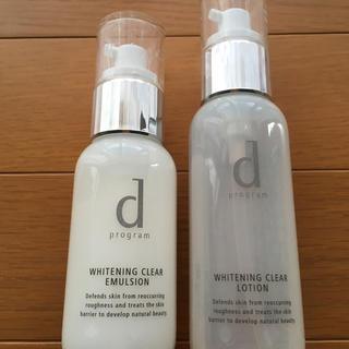 ディープログラム(d program)のdプログラムホワイトニングクリア(化粧水/ローション)