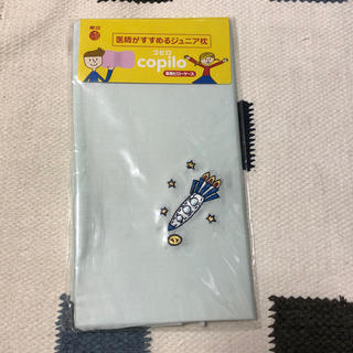 ニシカワ(西川)の新品 枕カバー コピロ 東京西川 ブルー(シーツ/カバー)