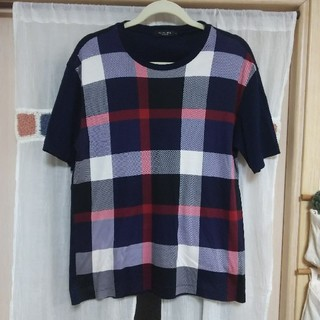 ブラックレーベルクレストブリッジ(BLACK LABEL CRESTBRIDGE)のクレストブリッジ ブラックレーベル 半袖 Tシャツ メンズ チェック バーバリー(Tシャツ/カットソー(半袖/袖なし))
