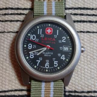 ウェンガー(Wenger)のレア ウェンガー✕ライカ コラボ腕時計 タイメックス セイコー シチズン(腕時計(アナログ))