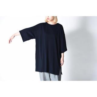 ドゥルカマラ(Dulcamara)のYANTOR 14G Cotton Knit Wide Pullover(Tシャツ/カットソー(半袖/袖なし))