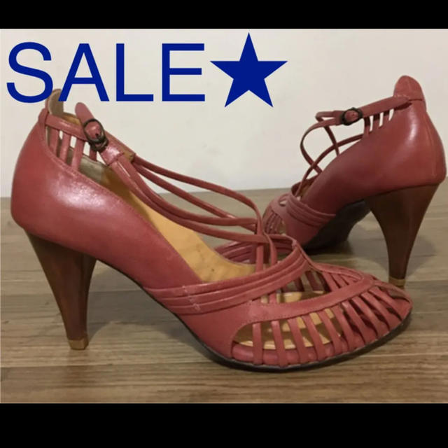 AU BANNISTER(オゥバニスター)のlachoue(BANNISTER)ストリングパンプス☆ レディースの靴/シューズ(ハイヒール/パンプス)の商品写真