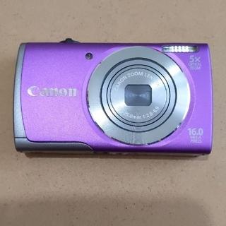 キヤノン(Canon)のCANON パワーショット A3500 IS パープル(コンパクトデジタルカメラ)