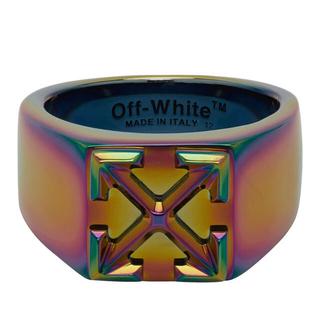オフホワイト(OFF-WHITE)のOff-White マルチカラー アローリング(リング(指輪))