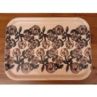 ミナペルホネン(mina perhonen)のミナペルホネン トレイ rosy 新品(収納/キッチン雑貨)
