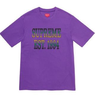 シュプリーム(Supreme)のSupreme Cotton mesh gradient logo S/S M(Tシャツ/カットソー(半袖/袖なし))