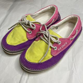 クロックス(crocs)の2足/¥2300 crocs・クロックス・子供スニーカー・靴(スニーカー)