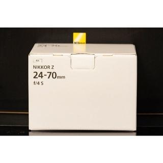 ニコン(Nikon)の本日最終!新品未開封!NIKKOR Z 24-70mm f/4 S-Line(レンズ(ズーム))