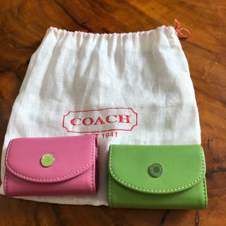 コーチ(COACH)のコーチ ノベルティ コンタクトケース(その他)
