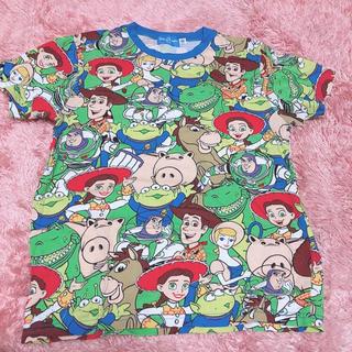 トイストーリー(トイ・ストーリー)のディズニーリゾート 総柄Tシャツ トイストーリー(Tシャツ(半袖/袖なし))
