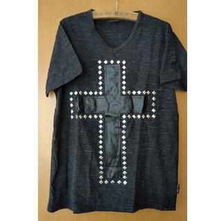 シマムラ(しまむら)のスタッツTシャツ(Tシャツ/カットソー(半袖/袖なし))