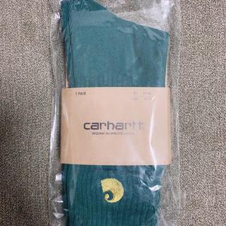 カーハート(carhartt)のカーハート靴下ソックス 24.5-28ボトルグリーン(ソックス)