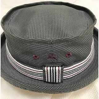 バーバリーブラックレーベル(BURBERRY BLACK LABEL)のバーバリーブラックレーベル 帽子(ハット)(ハット)