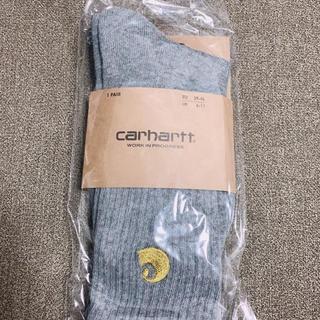 カーハート(carhartt)のキャンペーン カーハート靴下ソックス 24.5-28 グレーヘザー(ソックス)