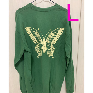 Supreme - girls don't cry BUTTERFLY L/S T-SHIR ロンT