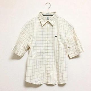 ラコステ(LACOSTE)のLACOSTE 半袖チェックシャツシャツ(シャツ/ブラウス(半袖/袖なし))