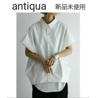 アンティカ(antiqua)のさえ様専用 antiqua BIG シルエットシャツ(シャツ/ブラウス(半袖/袖なし))