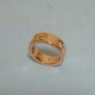 15号ジルコニア指輪シルバ-925リング(リング(指輪))