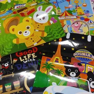 ミキハウス(mikihouse)のミキハウス ショップ袋 4枚セット(ショップ袋)