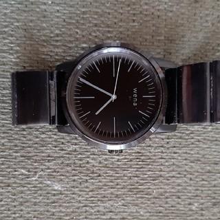 ソニー(SONY)のwena WT01B メンズ 腕時計(腕時計(デジタル))