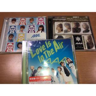 トリプルエー(AAA)のAAA CD 3枚セット(ポップス/ロック(邦楽))
