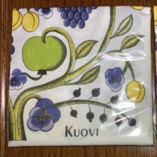 アラビア(ARABIA)のKUOVI クオヴィ ペーパーナプキン  オーチャード柄 カラフル(テーブル用品)