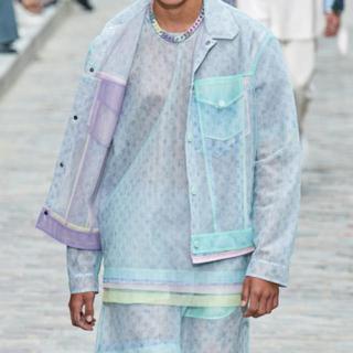 ルイヴィトン(LOUIS VUITTON)の定価22万 新品 タグ付き ヴィトン 2020春夏 ランウェイ Tシャツ(Tシャツ/カットソー(半袖/袖なし))