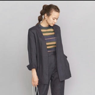 BEAUTY&YOUTH UNITED ARROWS - 【新品】BEAUTY&YOUTH タンブラーカラーレスベルトジャケット
