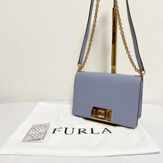 フルラ(Furla)の【廃盤】FURLA MIMI ミニクロスボディ バッグ レディース ライトブルー(ショルダーバッグ)