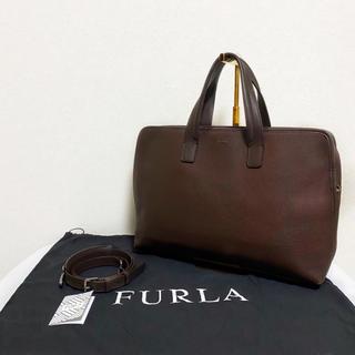 フルラ(Furla)の【廃盤】FURLA メンズ ビジネスバッグ マルテ モカ ブラウン 2way(ビジネスバッグ)