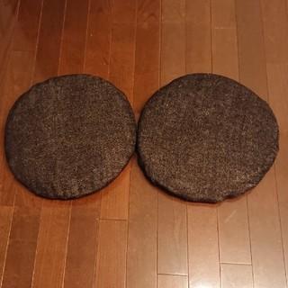 ムジルシリョウヒン(MUJI (無印良品))の無印良品、シートクッション2個(クッション)