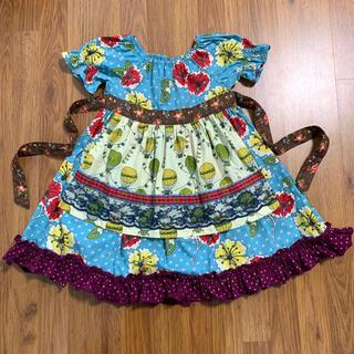 専用マチルダジェーン Homegrown Peasant Dress 6 120(ワンピース)