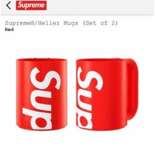 シュプリーム(Supreme)のSupreme Heller Mugs Set of 2(グラス/カップ)