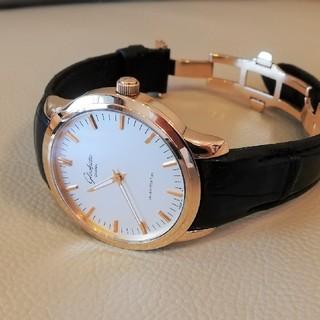 グラスヒュッテオリジナル(Glashutte Original)の超破格!グラスヒュッテ セネタ18K PG 100-08-01-0(腕時計(アナログ))