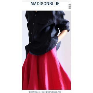 マディソンブルー(MADISONBLUE)のマディソンブルー2020SS  LINENシャツ(シャツ/ブラウス(長袖/七分))