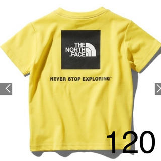 ザノースフェイス(THE NORTH FACE)のノースフェイス スクエア ロゴ Tシャツ 120(Tシャツ/カットソー)