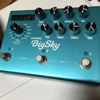 ボス(BOSS)のStrymon Big sky reverb 名機(エフェクター)