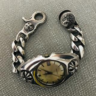 オメガ(OMEGA)の【希少】オメガ シルバーブレスレットケース 時計 クロス(腕時計(アナログ))