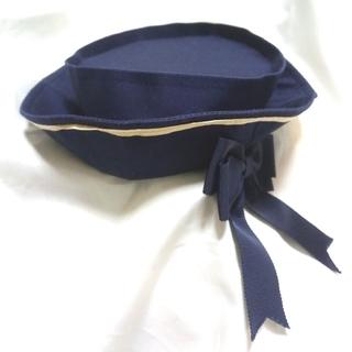 ヴィクトリアンメイデン(Victorian maiden)のマリン セーラー リボン マリンハット ネイビー 紺 クラシカル(ハット)