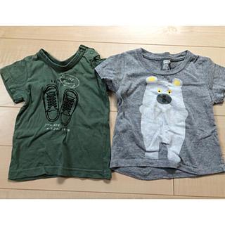 ブランシェス(Branshes)の2枚セット 80サイズ(Tシャツ)