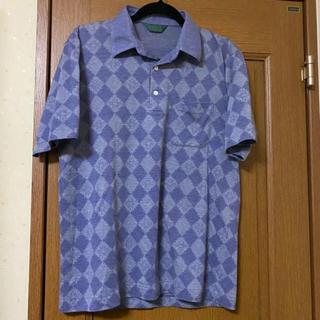 vintage purple argyle poloshirt magliano(ポロシャツ)