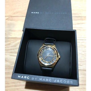 マークバイマークジェイコブス(MARC BY MARC JACOBS)のmarc by marc jacobs 腕時計 レザー(腕時計)