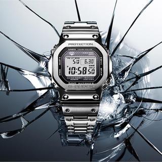 ジーショック(G-SHOCK)のG-SHOCK GMW-B5000D-1JF フルメタル シルバー (腕時計(デジタル))