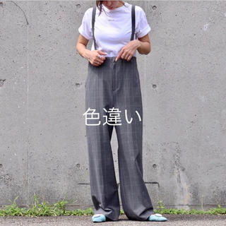 【新品未使用】BLANC♡サロペット