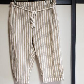 tutuanna - ストライプ柄7分丈パンツ