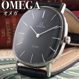 オメガ(OMEGA)の★新品仕上げ&OH済/動画有★1980's/オメガ/デビル/手巻きメンズ腕時計(腕時計(アナログ))