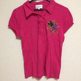ディズニー(Disney)のレア 香港 ディズニーランド ポロシャツ レディース 公式グッズ オフィシャル(ポロシャツ)