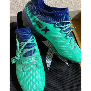 アディダス(adidas)のadidas エックス 17.1-ジャパン HG 27.5cm(サッカー)
