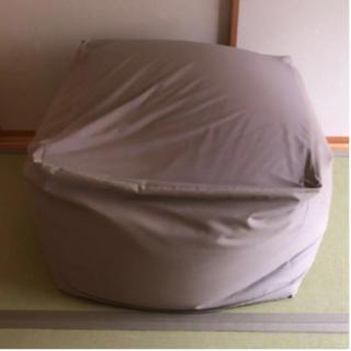 ムジルシリョウヒン(MUJI (無印良品))の無印良品 体にフィットするソファ(ビーズソファ/クッションソファ)