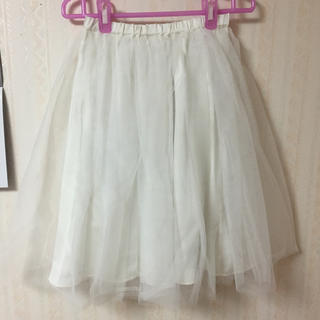 ニーナミュウ(Nina mew)のninamewチュールスカート(ひざ丈スカート)
